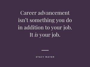 Career Advancement advice.
